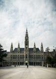 Ayuntamiento (Rathaus) Viena Imagenes de archivo