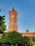 Ayuntamiento rojo fotografía de archivo libre de regalías