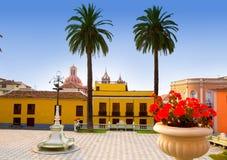 Ayuntamiento square in La Orotava Tenerife Stock Photo