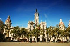 Ayuntamiento, Valencia Imágenes de archivo libres de regalías