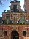 Ayuntamiento viejo Appingedam imagenes de archivo