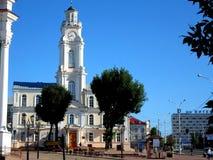 Ayuntamiento viejo de Vitebsk Imagen de archivo libre de regalías