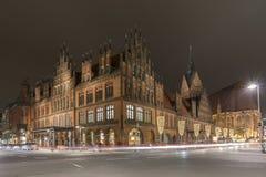 Ayuntamiento viejo en Hannover Imágenes de archivo libres de regalías