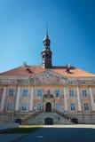 Ayuntamiento viejo en Narva, Estonia Imagen de archivo libre de regalías