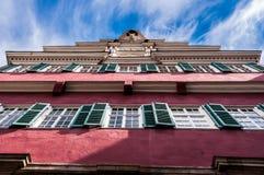Ayuntamiento viejo, Esslingen, Alemania Imagen de archivo