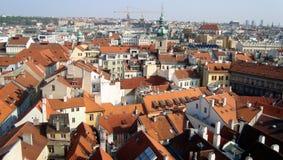 Ayuntamiento viejo Praga Foto de archivo libre de regalías