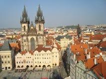 Ayuntamiento viejo Praga Fotos de archivo libres de regalías