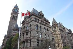 Ayuntamiento viejo, Toronto Imagen de archivo libre de regalías