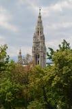 Ayuntamiento Viena Imagenes de archivo