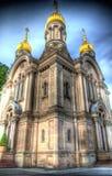 Ayuntamientos de Wiesbaden de la religión imagen de archivo libre de regalías