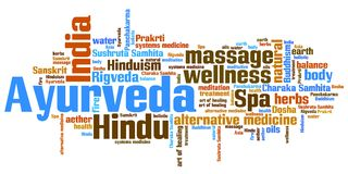 Ayurveda Royalty Free Stock Photo