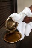 ayurveda masaż zdjęcie stock