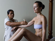 ayurveda masaż zdjęcia royalty free