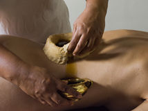 Ayurveda massage Royalty Free Stock Photography