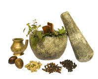 Ayurveda Natural Health Royalty Free Stock Photos