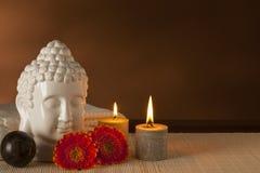 Ayurveda spa het nog-leven Stock Afbeeldingen