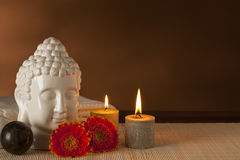 Ayurveda spa still-life Stock Images