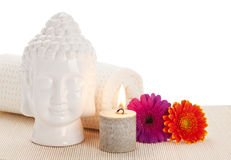 Ayurveda spa still life Royalty Free Stock Images