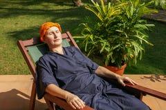 Ayurveda-trattamento immagine stock