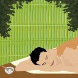 ayurvedic массаж бесплатная иллюстрация