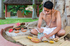 Ayurvedic Doctor Royalty Free Stock Photography