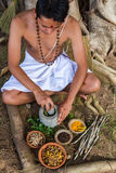 Ayurvedic Doctor Stock Images