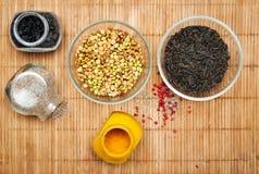 Ayurvedic kokend voedsel Stock Fotografie