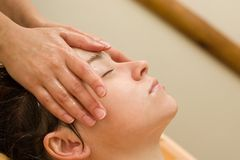 Ayurvedic massage Royalty Free Stock Photography