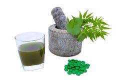 Ayurvedic Medicine Stock Image