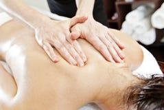 Ayurverdic Behandlung, Massage lizenzfreie stockfotografie