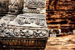 Ayutaya在泰国 免版税图库摄影