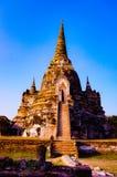 Ayutaya 2. This is history place an old palace in Ayutaya Thailand Royalty Free Stock Photo