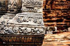 Ayutaya in Tailandia Fotografia Stock Libera da Diritti