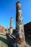 ayuthaya świątynia Thailand Zdjęcie Stock