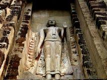 ayuthaya buddha Royaltyfria Bilder