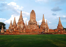ayuthaya Chai kol mong Thailand wat Yai Obrazy Stock