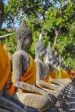 Ayuthaya di Buddha Fotografia Stock Libera da Diritti