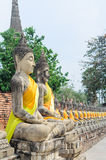 Ayuthaya historical park Royalty Free Stock Photography
