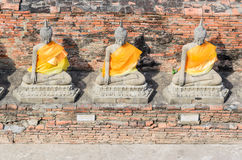 Ayuthaya historical park Thailand Stock Photos