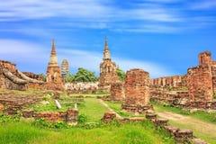 Ayuthaya kingdom history. Ayutthaya kingdom history in Thailand Royalty Free Stock Photography