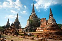 Ayuthaya, Thaïlande. Images stock