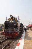 AYUTHAYA THAILAND - 28. MÄRZ: Lokomotive bildet Parken im bangp aus Stockfoto
