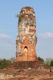 ayuthayapagoda thailand Royaltyfria Foton