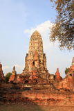 ayuthayapagoda thailand Arkivbilder