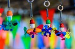 Ayuthayastuk speelgoed in Thailand Royalty-vrije Stock Fotografie