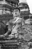 Ayuttaya του Βούδα Στοκ Εικόνες