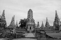 Ayuttaya Thailand Arkivfoton