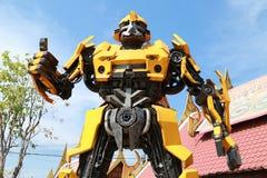 AYUTTAYA, THAILAND - 30. Dezember 2014: Die Replik der Hummel Lizenzfreie Stockfotos