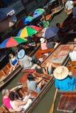 Ayuttayah Floating Market, Thailand Travel Stock Photography