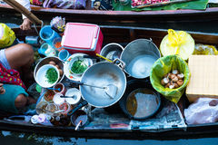 Ayuttayah Floating Market, Thailand Travel Royalty Free Stock Photo